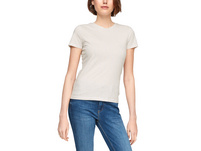 Jerseyshirt mit Metallic-Streifen - T-Shirt
