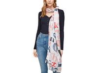 Schal mit Allover-Print - Schal