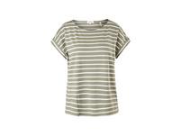 Streifenshirt aus Viskosemix - T-Shirt