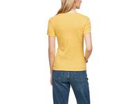 Jerseyshirt mit Rundhalsausschnitt - Baumwollshirt