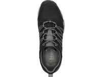 Sneaker im Mix aus Mesh und gleichfarbigen Synthetik-Overlays