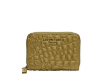 Geldbörse aus Leder mit Krokodilhautprägung - Kroko Conny