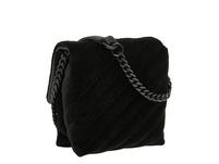 kleine Umhängetasche aus Samt - Velvet Crossbody XS