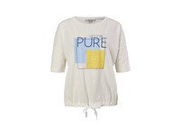 Print-Shirt mit Durchzugband - T-Shirt
