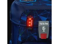 Step by Step LED-Sicherheitsleuchte rot