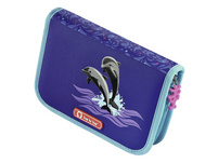 Step by Step Schulranzen-Set 4tlg. Touch 2 Flash Happy Dolphins
