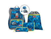 Step by Step Schulranzen-Set Jungen 5-tlg. Cloud City Cops