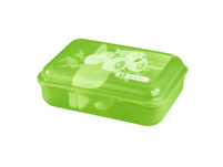 Step by Step Brotzeitdose Lunchbox Green Tractor