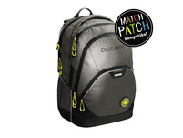 coocazoo Schulrucksack EvverClevver 2 MatchPatch Reflective 30l reflective grey