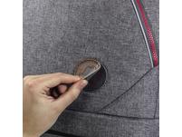 coocazoo Ergänzungsset Kunstleder MatchPatch grey