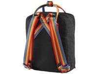 Fjällräven Rucksack Kanken Rainbow Mini black-rainbow pattern