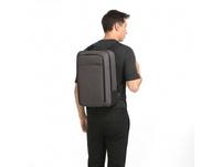 "Salzen Laptoprucksack Redefined Classic Sleek Line 15,6"" storm grey"