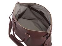 Klatta Offermann Shopper Weekender maroon brown