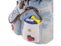 New-Rebels Damenrucksack 25 patch dark jeans