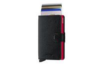 Secrid Kreditkartenetui Miniwallet veg black-red