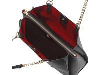Love Moschino Kurzgriff Tasche JC4065 mittelrot