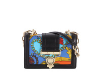 Versace Jeans Couture Abendtasche Linea S DIS 1 black/soave