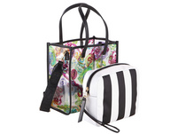 Versace Jeans Couture Kurzgrifftasche Linea N DIS 2 Bag in Bag print bunt