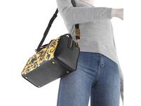 Versace Jeans Couture Kurzgriff Tasche Linea M DIS. 6 schwarz printed