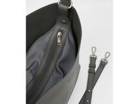 Seidenfelt Manufaktur Beuteltasche Ribe dark grey