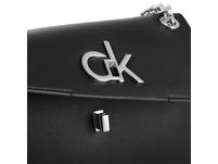 Calvin Klein Abendtasche Re-Lock Conv Crossbody MD light sand