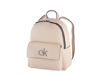 Calvin Klein Damenrucksack Re Lock SM light sand