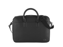 "Calvin Klein Laptoptasche Laptop Bag w/ PCKT 15"" black"