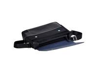 """Cross Laptoptasche Seville Messenger bag 13"""" RFID-Schutz schwarz"""