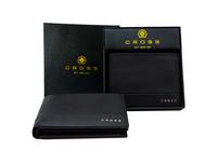 Cross Geldbörse Nueva slim RFID in Geschenkbox 4+3CS schwarz