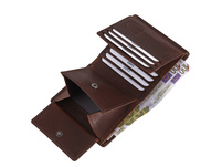 Strellson Hochkantbörse Herren Goldhawk Billfold Q6 brown