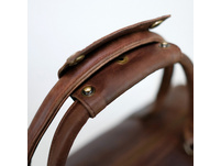 Buckle & Seam Reisetasche Willow 37l brown