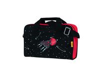 DerDieDas Schulranzenset Ergoflex Max Exkl. LED 22l Red Planet