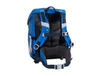 Scout Schulranzen Set 4tlg. Sunny II blue space Safety Light