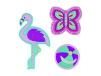 Scout Schulranzen Set 4tlg. Genius Flamingo