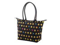Fabrizio Shopper 62185/0100 schwarz/smilys