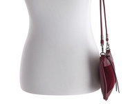 Tom Tailor Clutch Tilda Velvet wine