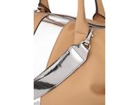 Bree Kurzgriff Tasche Icon Bag natur/silber