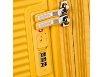 American Tourister Reisetrolley Soundbox 77cm golden yellow