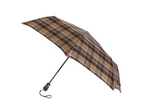 Knirps Taschenschirm T3  Duomatic check brown