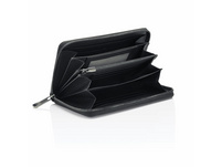 Porsche Design Querbörse Herren SLG Business Wallet 15 Zip schwarz