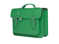 CEEVEE Leather Aktentasche Catchall Business green