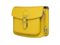 CEEVEE Leather Umhängetasche Catchall II lemon