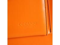 CEEVEE Leather Aktentasche Catchall Day orange