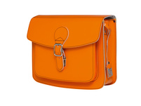 CEEVEE Leather Umhängetasche Catchall II orange