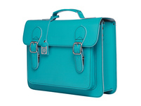 CEEVEE Leather Aktentasche Catchall Business turquoise