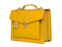 CEEVEE Leather Aktentaschen Catchall III dark yellow