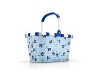 reisenthel Einkaufskorb carrybag gemustert 22l leaves blue