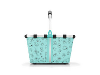 reisenthel Einkaufskorb Carrybag XS 5l cats and dogs mint