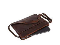"""Sattlers & Co Laptoptasche The Barn Mick XL 17,4"""" red"""
