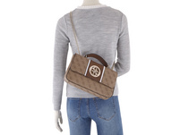 Guess Abendtasche Open Road Convertible XBody Flap coal